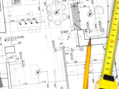 levantamento de edificações de arquitetura